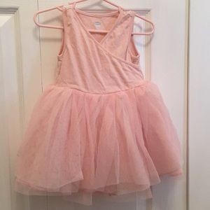 Ballet Pink Tulle Dress by Old Navy 12-18 months